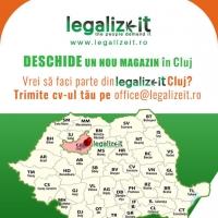 Deschidem un magazin Legalizeit in Cluj!
