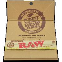 Foite 'RAW' din Canepa ( Organic ) cu Santier + Filtre