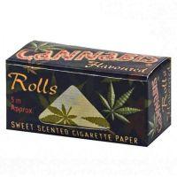 Rola de Foite 'Cannabis' cu Aroma de Cannabis