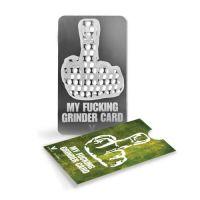 Grinder Card 'My F'n Grinder Card'