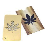 Grinder Card 'Leaf Gold'