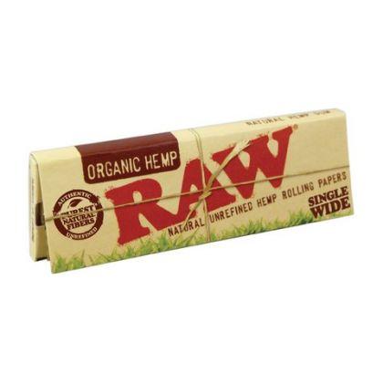 Foite 'Raw' din Canepa ( Organic ) Single Wide 1/2