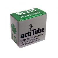 Filtre SLIM 'actiTube' Carbon Activat x 10buc.