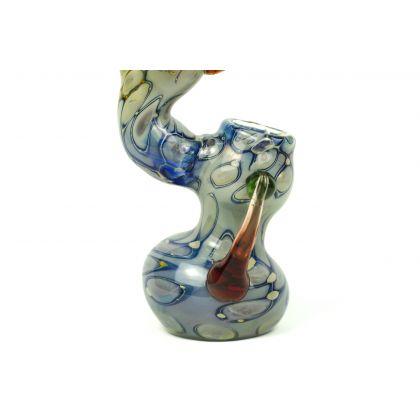 Pipa 'sixBglass' Sherlock Bubbler Large