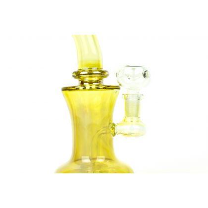 Bong sixBglass Gold Fumed