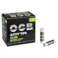 Filtre SLIM 'OCB' Carbon Activat x 50buc.