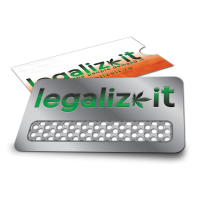 Grinder Card 'Legalizeit' V-Syndicate