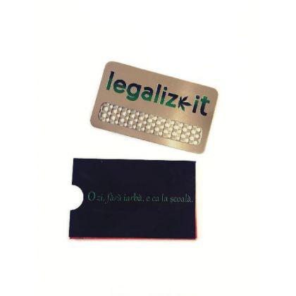 Grinder Card 'Legalizeit' V-Syndicate