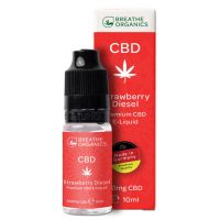 E-liquid CBD 3% Strawberry Diesel 'Breathe Organics' - 10ml