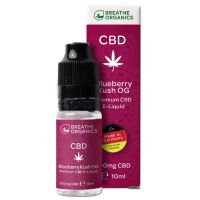 E-liquid CBD 3% Blueberry kush 'Breathe Organics' - 10ml