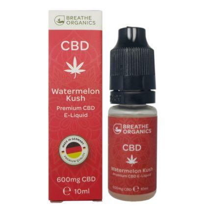 E-liquid CBD 6% Watermelon Kush 'Breathe Organics' - 10ml