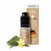 E-liquid CBD 6% Vanilla&green tea 'Breathe Organics' - 10ml
