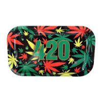 Tava de rulat '420 Rasta'