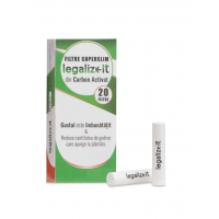 Filtre SUPER SLIM 'legalizeit' Carbon Activ x20