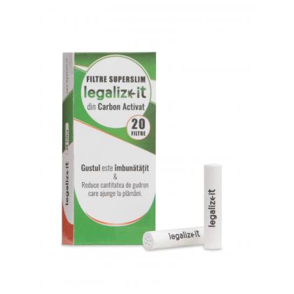 Filtre SUPER SLIM 'legalizeit' Carbon Activ x20