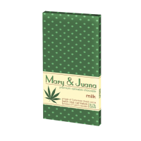 Ciocolata 'Euphoria' Mary & Juana 'MILK' - 80g