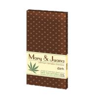 Ciocolata 'Euphoria' Mary & Juana 'DARK' - 80g