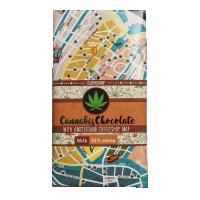 Ciocolata 'Euphoria' Amsterdam Map 'MILK' - 100g