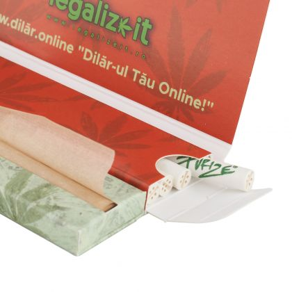 Foite Organice 'legalizeit' + Filtre Purize Carbon