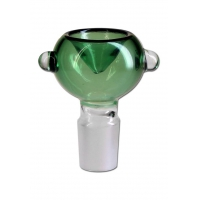 Glass Bowl green